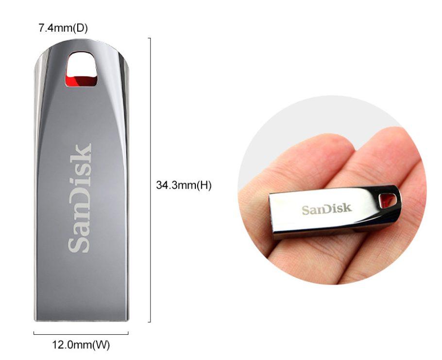 USB Sandisk 8GB (SDCZ71-B35)