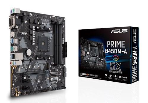 Bo mạch chính/ Mainboard Asus Prime B450M-A