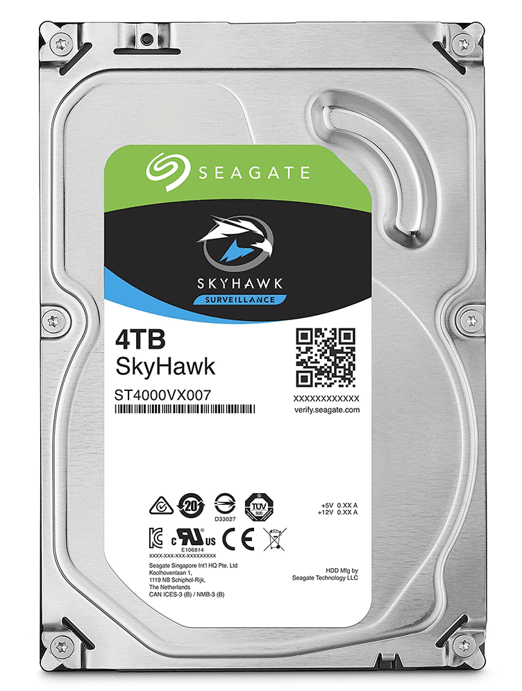Ổ cứng HDD Seagate 4TB Skyhawk Sata