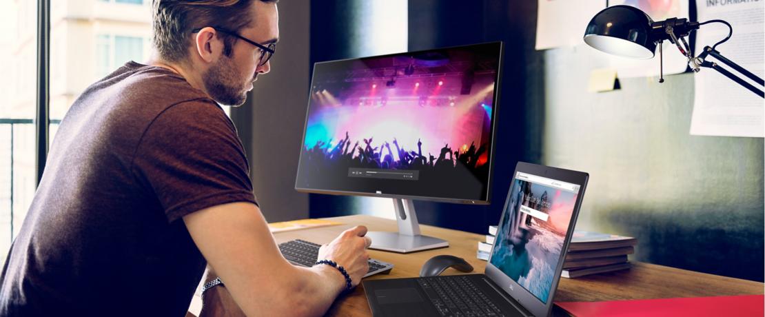 màn hình LCD Dell 23.8