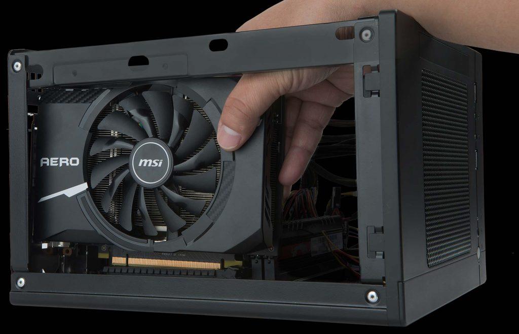 Card màn hình Msi 2GB GT1030 Aero ITX 2GD4 OC