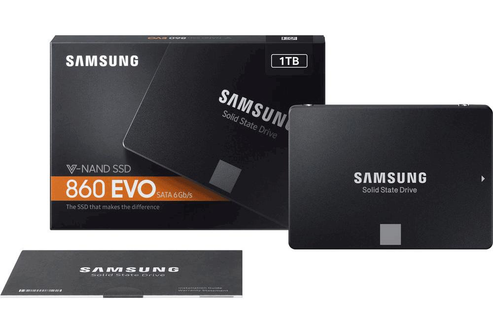 Ổ Cứng SSDSata III 2.5 inch 1TB Samsung 860 Evo MZ-76E1T0BW