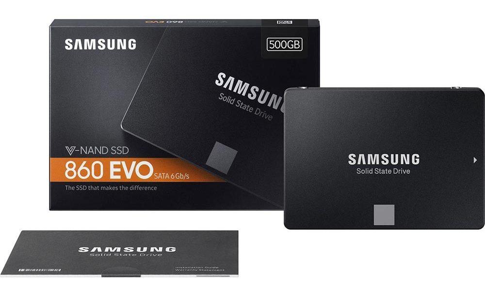 "Ổ Cứng SSDSamsung 860 EVO 500GB 2.5"" (Mz-76E500BW)"
