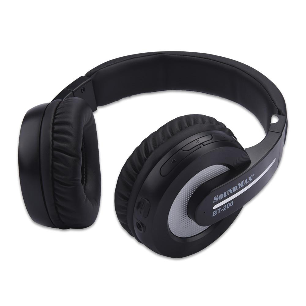 Tai Nghe Bluetooth Soundmax BT-200