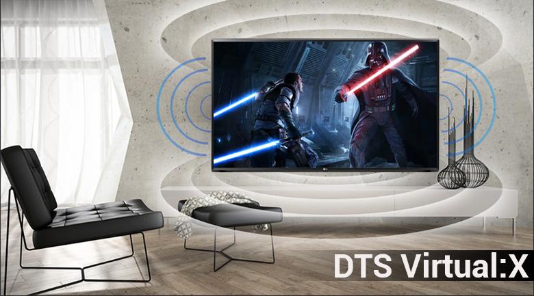 Smart Tivi 4K LG 43 inch 43UK6340PTF đem lại âm thanh bùng nổ, chân thực