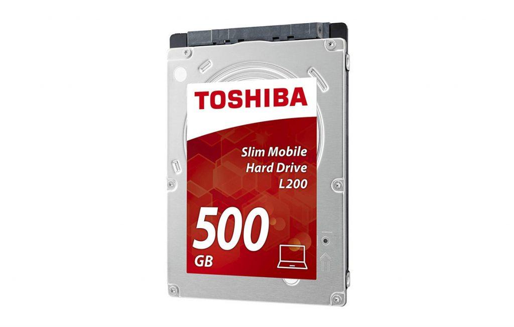"""Ổ cứng HDD Toshiba L200 2.5"""" 500GB SATA 3Gb/s 5400 RPM (HDWK105UZSVA)"""