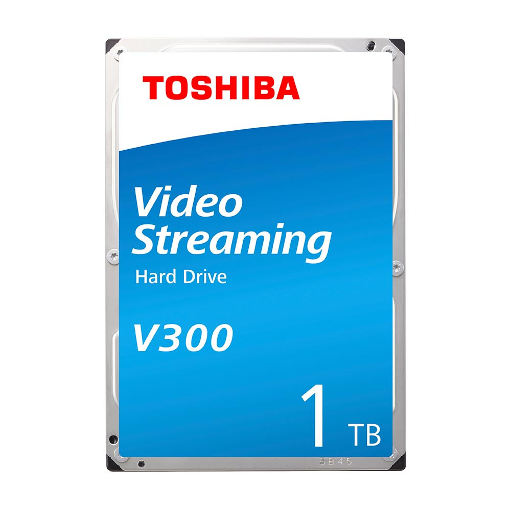 """Ổ cứng HDD Toshiba V300 Video Streaming 3.5"""" 1TB SATA 5700RPM 64MB (HDWU110UZSVA)"""