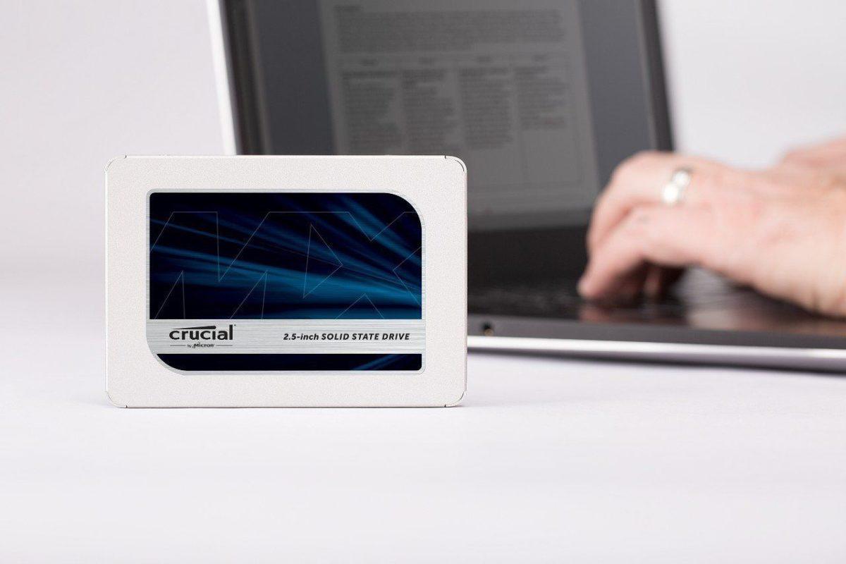"Ổ cứng SSD Crucial MX500 2.5"" 1TB SATA 6.0Gb/s (CT1000MX500SSD1)"