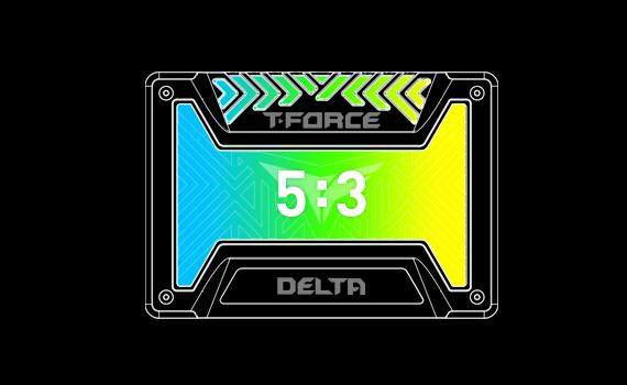 "Ổ cứng SSD Team Delta RGB 2.5"" 250GB SATA 6Gb/s"
