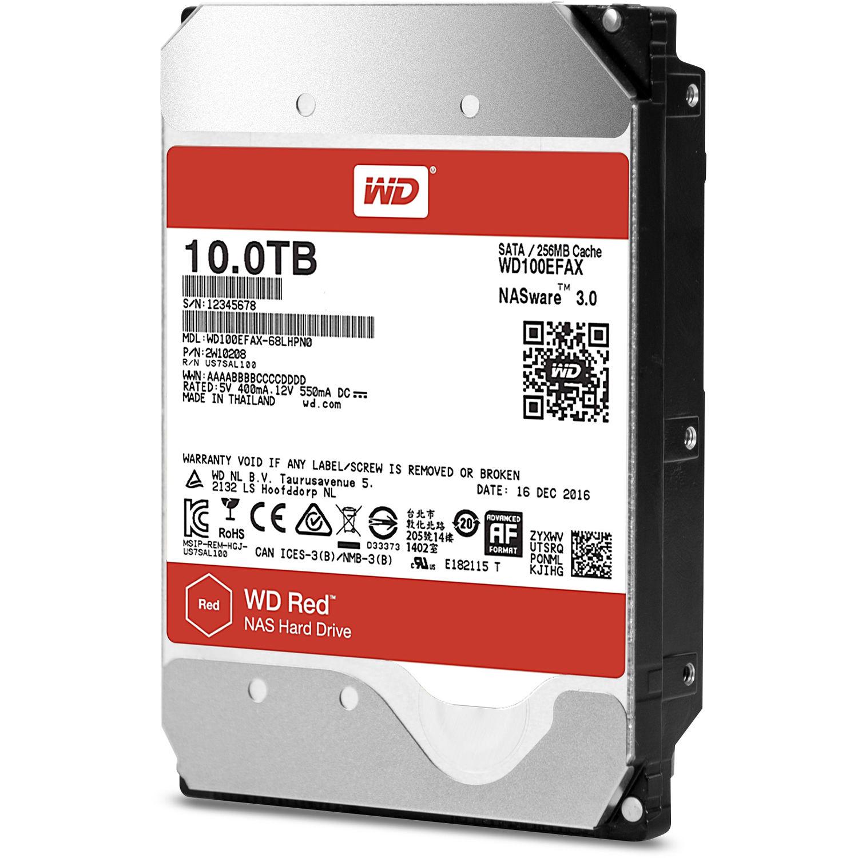 ổ cứng HDD WD 10TB WD100EFAX Sata 3 (Đỏ)