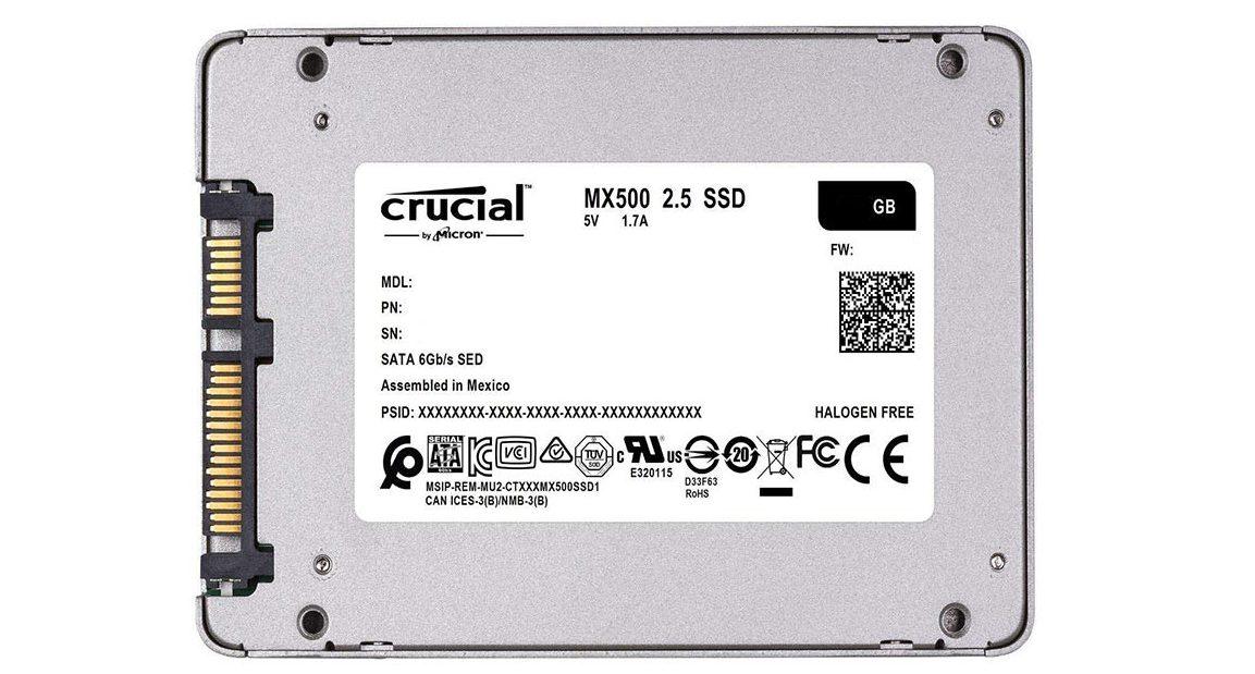 ổ cứng SSD Crucial MX500 250GBổ cứng SSD Crucial MX500 250GB