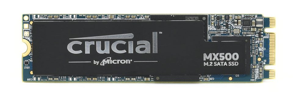 Ổ cứng SSD Crucial MX500 500GB M.2 2280 SATA 6.0Gb/s (CT500MX500SSD4)