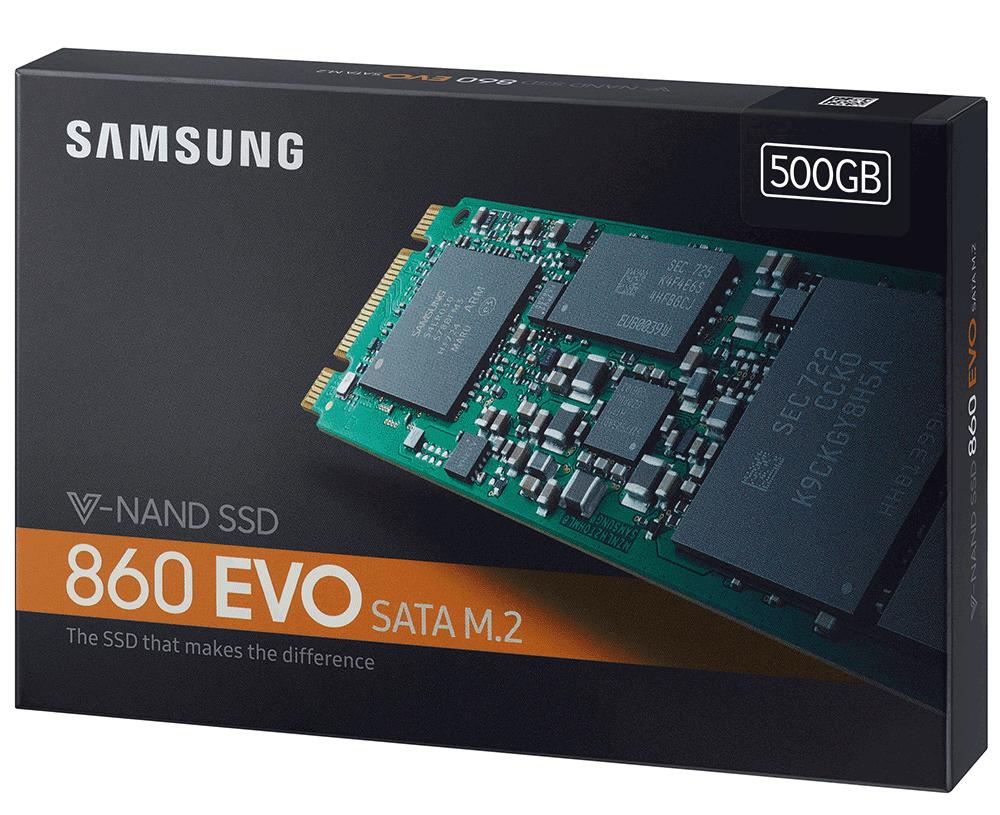 Ổ cứng SSD Samsung 860 EVO 500GB M.2 Sata (Mz-N6E500BW)
