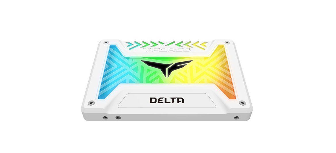 "Ổ cứng SSD Team Delta RGB 2.5"" 1TB SATA 6Gb/s (Trắng)"