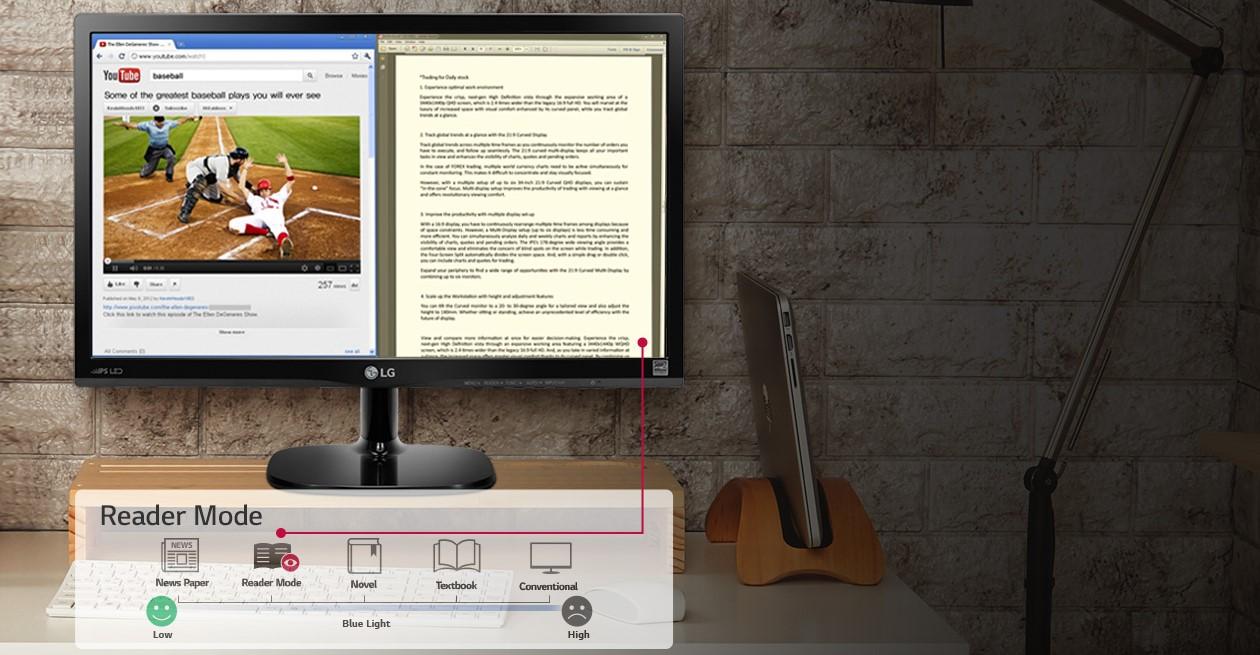 Màn hình LCD LG 23.6'' 24M49VQ-P sự lựa chọn hợp lí của mọi người dùng.