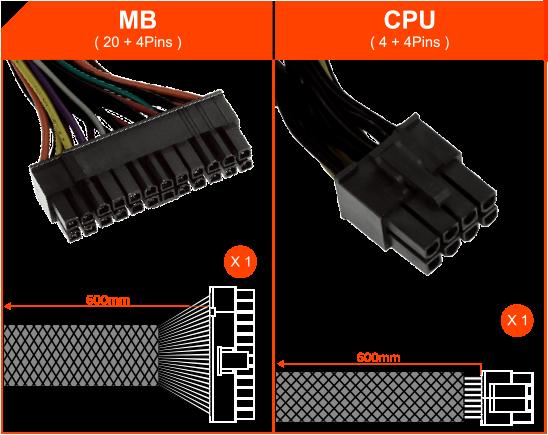 Power Gigabyte 500W (GP-PB500)