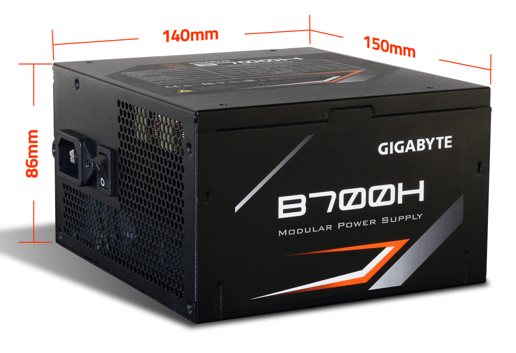 Power Gigabyte 700W (GP-B700H)