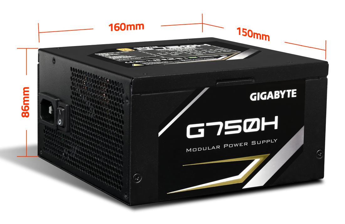Power Gigabyte 750W (GP-G750H)