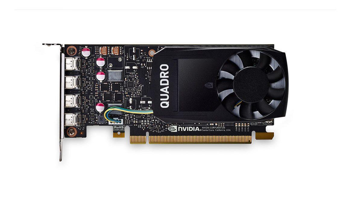 Card màn hình Quadro 4GB P1000