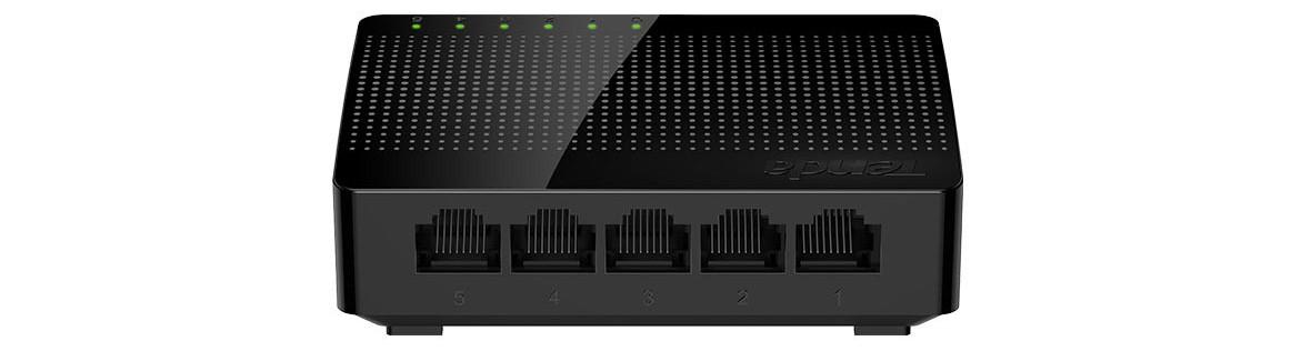 Thiết bị mạng/ Switch Tenda SG105 (Đen)
