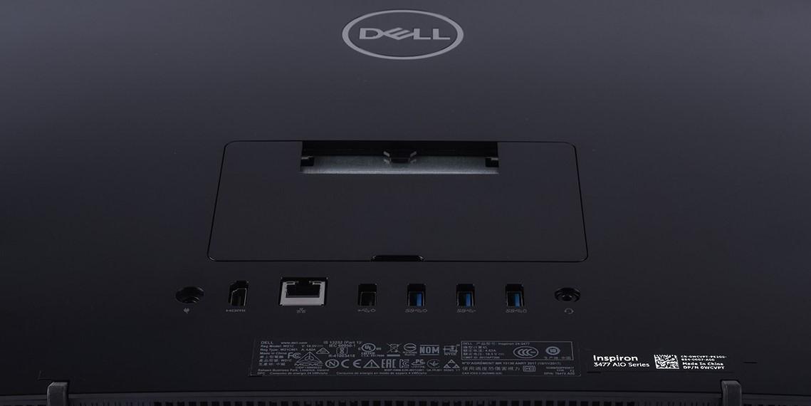 """Máy tính để bàn / PC Dell AIO 3477A (i3-7130U/4GB/1TB) 23.8"""" FHD"""