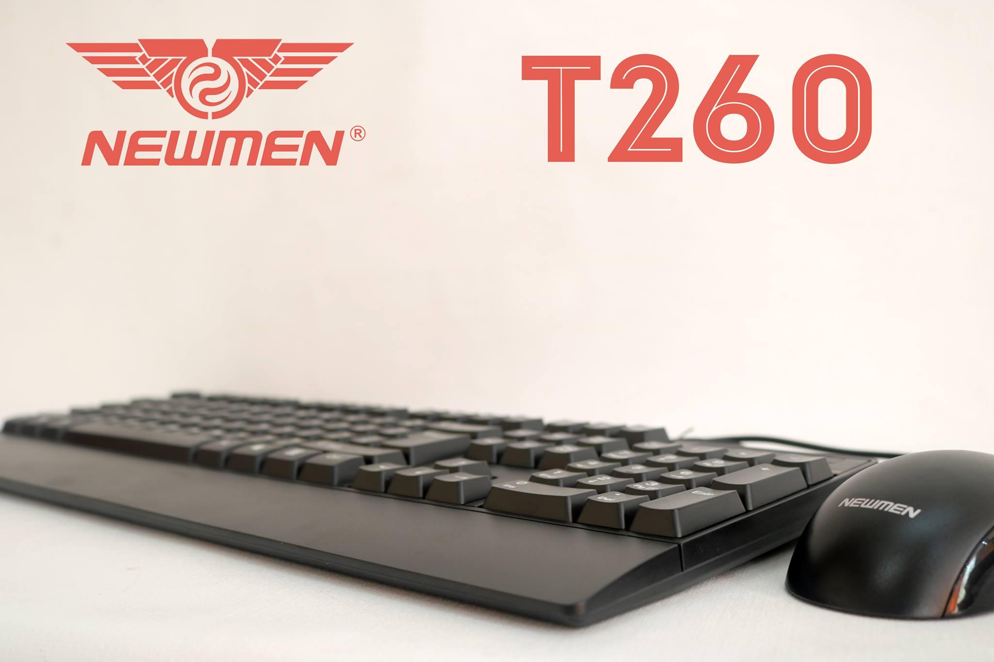 Bàn phím + Chuột Newmen có dây T260