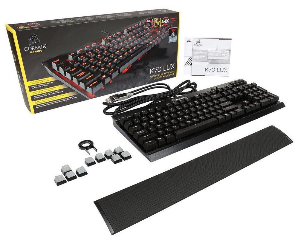 Bàn phím Corsair K70 LUX MX (Đỏ)
