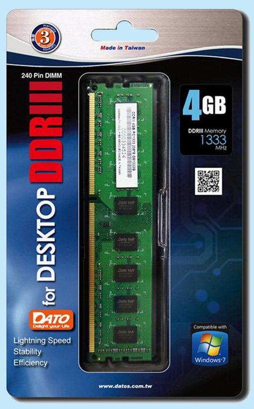 Bộ nhớ DDR3 Dato 4GB (1600)