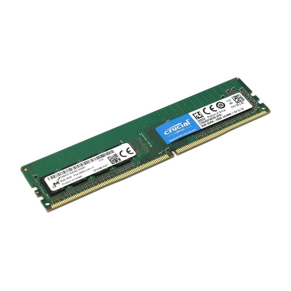 Bộ nhớ/ Ram Crucial 8GB DDR4 2666 (CT8G4DFS8266)