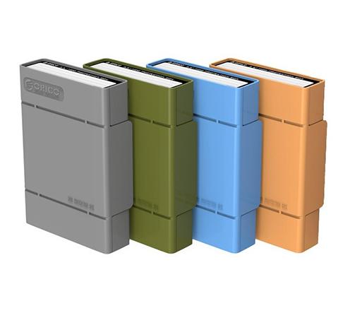 Bao ổ cứng 3.5'' Orico PHP35-V1 (Xanh)