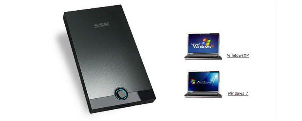 Box ổ cứng 2.5'' SSK Sata USB 3.0 (SHE 085)