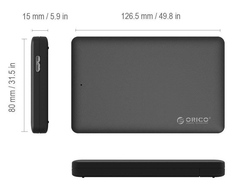 Box ổ cứng 2.5'' Orico 2577 Sata (3.0)
