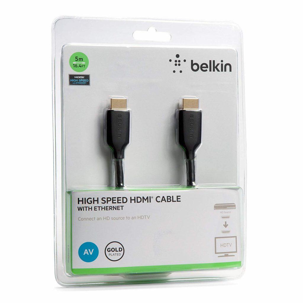 Cáp Nối HDMI – HDMI M/MBelkin F3Y021BT5M