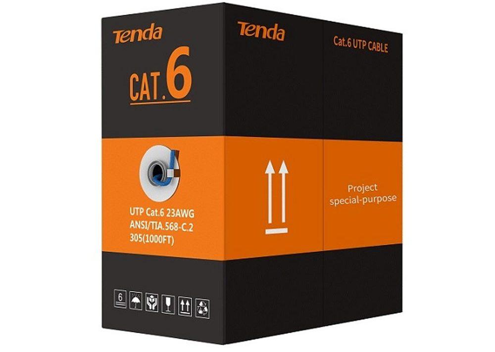 Cáp Tenda Cat6 UUTP (Thùng 305m)