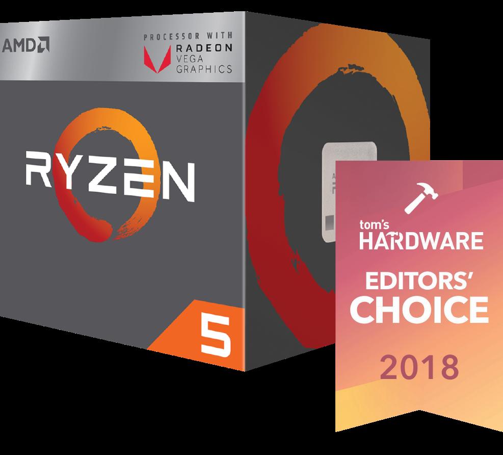CPU AMD Ryzen 5 2400G (3.6 3.9GHz)