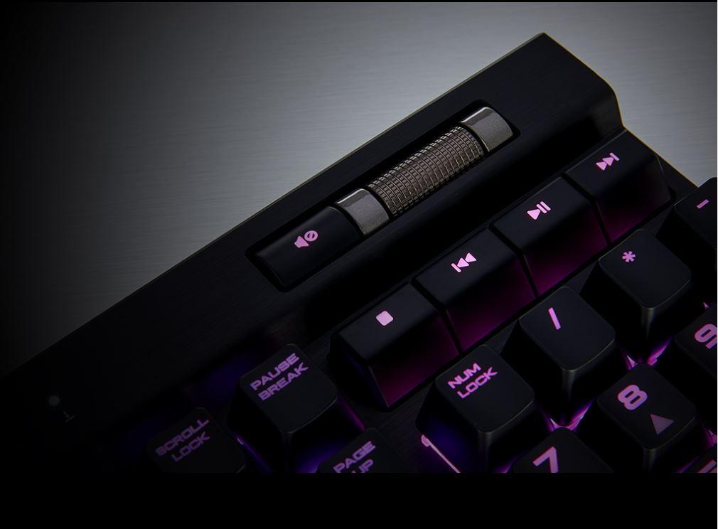 Bàn phím Corsair K70 MK.2 RGB MX (Nâu)