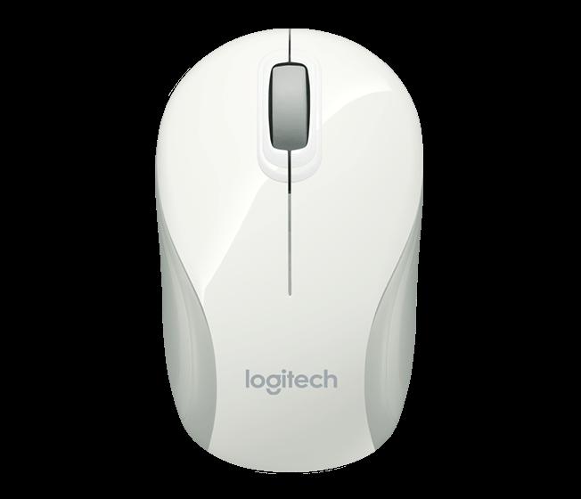 Chuột máy tính Logitech M187 (Trắng)