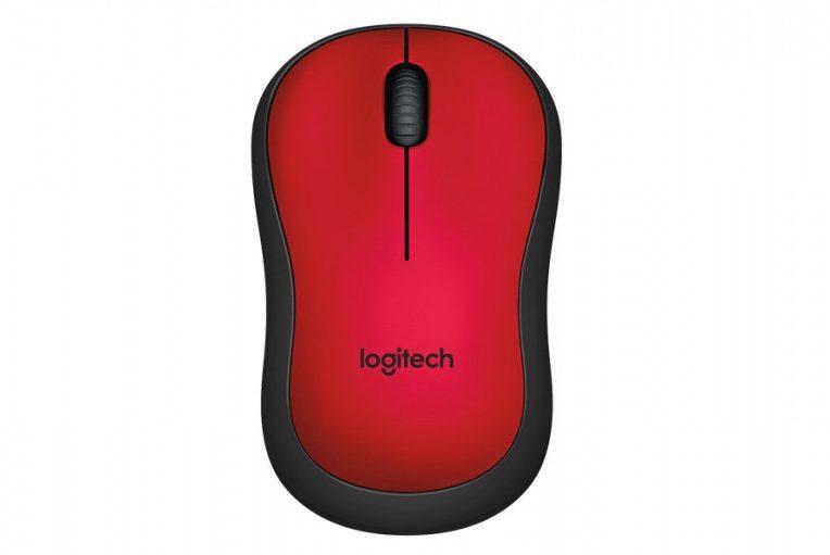 Chuột máy tính Logitech M221 không dây (Đỏ)