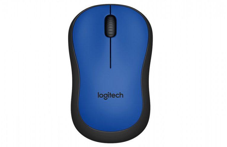 Chuột máy tính Logitech M221 không dây (Xanh)