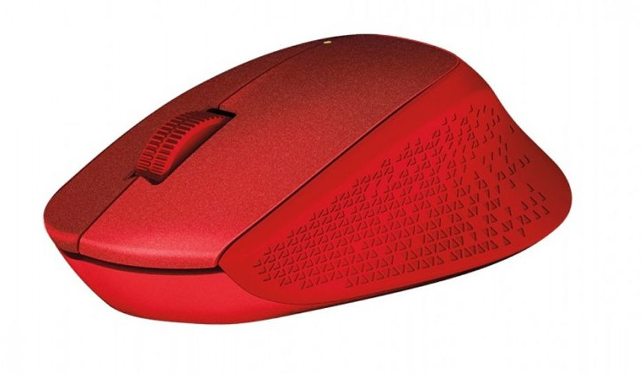 Chuột máy tính Logitech M331 (Đỏ)
