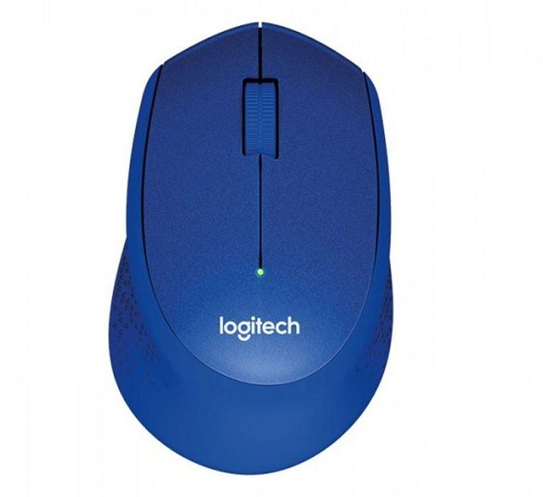 Chuột máy tính Logitech M331 (Xanh dương)
