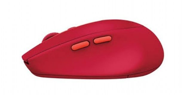 Chuột máy tính Logitech M590 không dây (Đỏ)