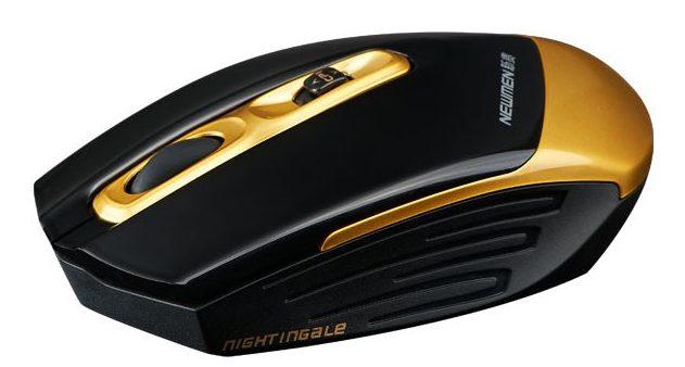 Chuột máy tính Newmen F600 (Vàng)