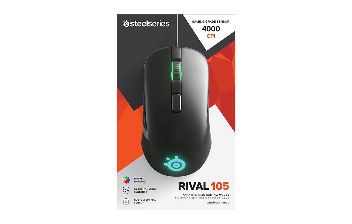 Chuột Rival 105 RGB: