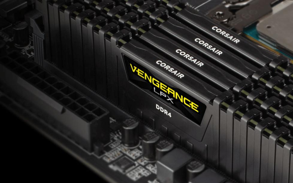 Bộ nhớ DDR4 Corsair 16GB (2666) C16R CMK16GX4M2A Ven LPX (2x8GB) mạnh mẽ với khẳ năng ép xung