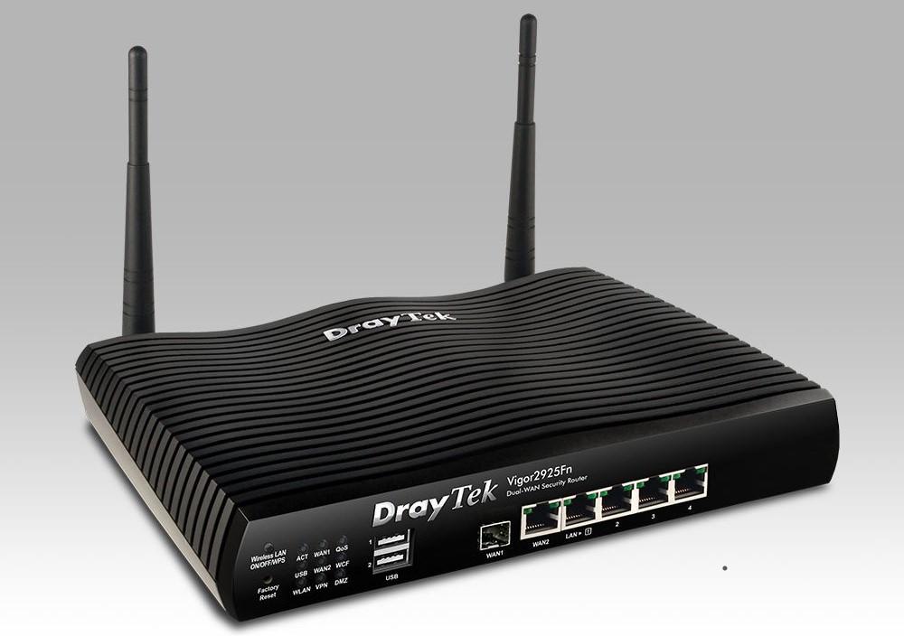 Bộ định tuyến/ Draytek V2925FN (1 sợi quang)