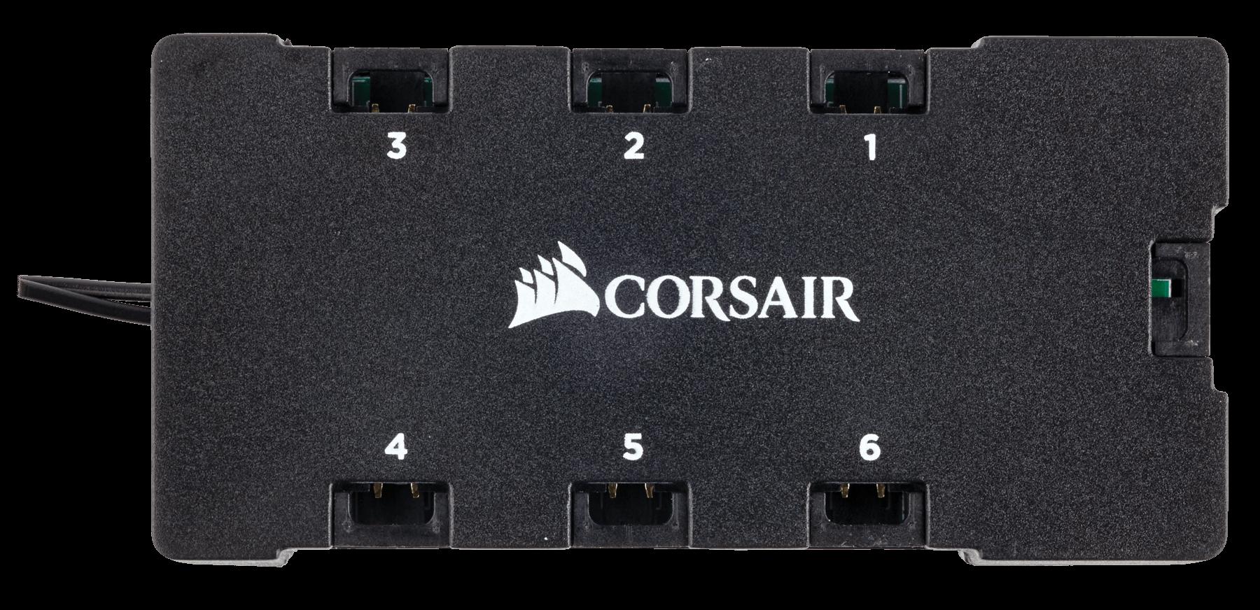 Fan Corsair LL120 RGB 120mm Dual Light Loop RGB LED PWM Fan (Gồm 3 Fan với Lighting Node PRO) (CO-9050072-WW) 2