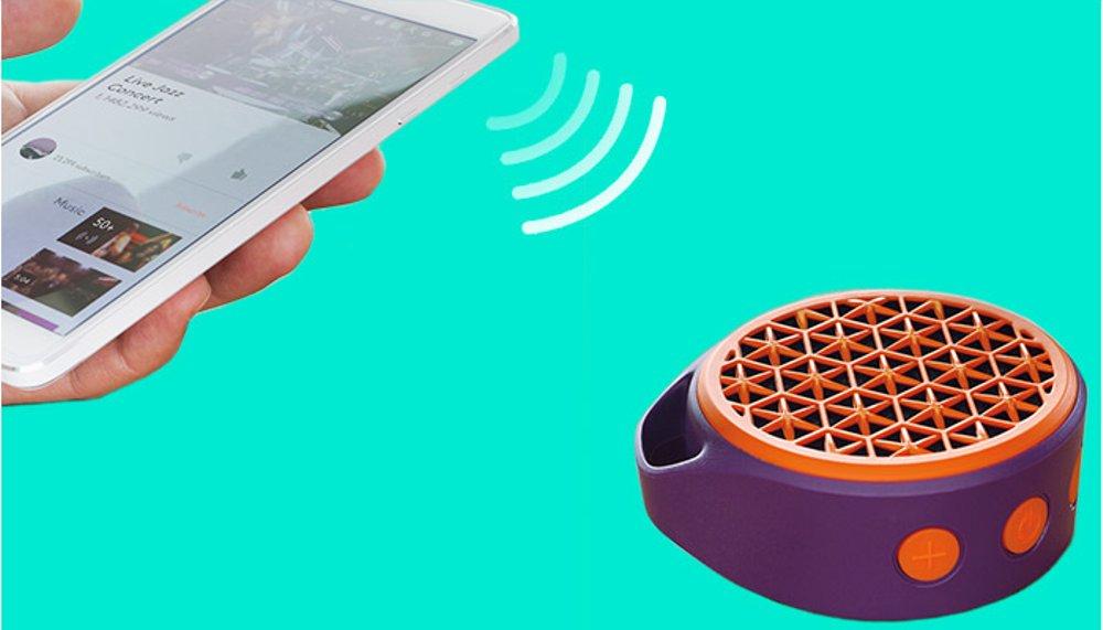 Loa Logitech X50 (Xanh dương) loa Bluetooth nhỏ gọn với nhiều tính năng hiện đại