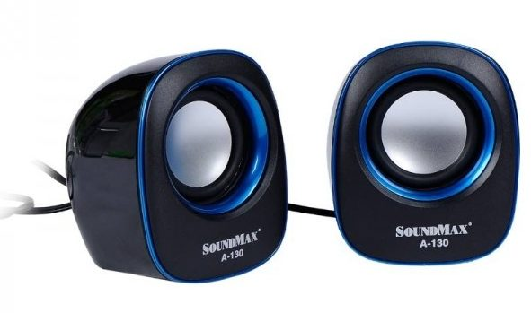 Loa Soundmax A130 (2.0) (Xanh)