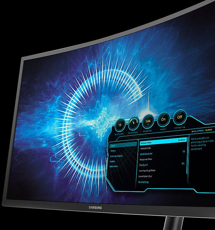 """Màn hình cong LCD Samsung 27"""" LC27HG70QQEXXV"""